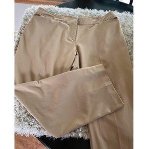 Lane Bryant Tan Dress Pants Size 20 Petite